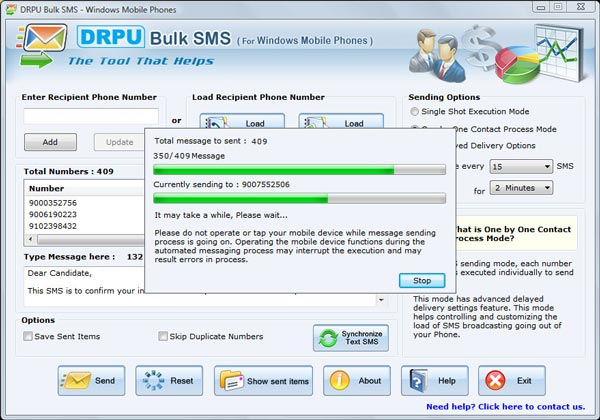 free sms software for samsung mobile