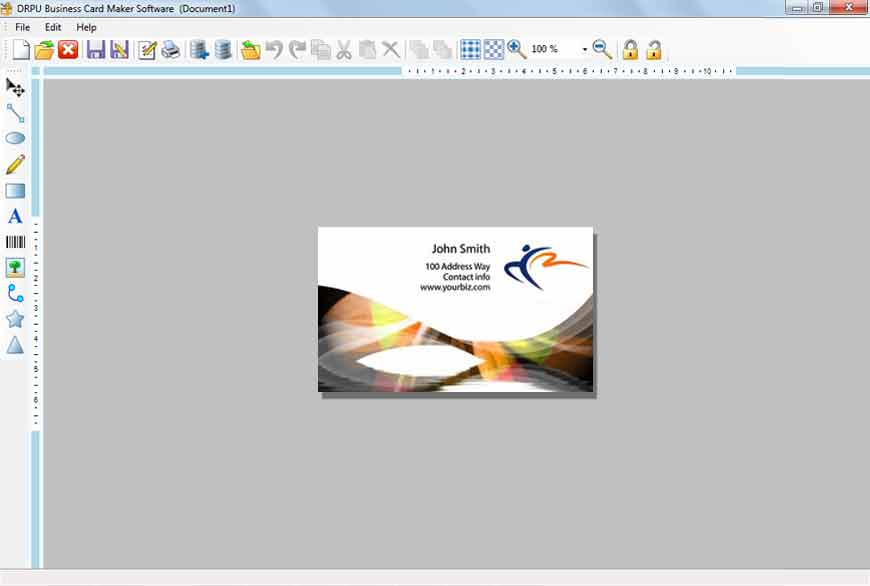 Amazing freeware business card design software inspiration business card making software free download image collections card reheart Gallery