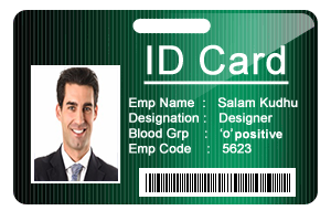 Id Cards Maker Corporate Edition Design Employee Students Id Cards