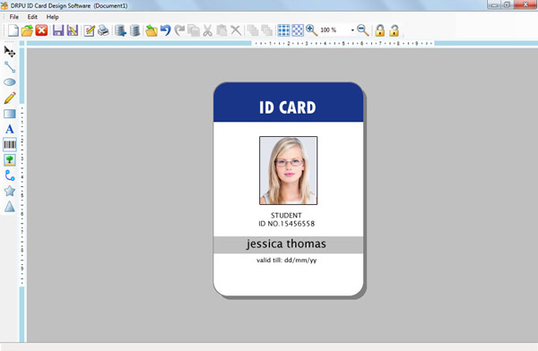 Make ID cards employee student faculty identification card ...