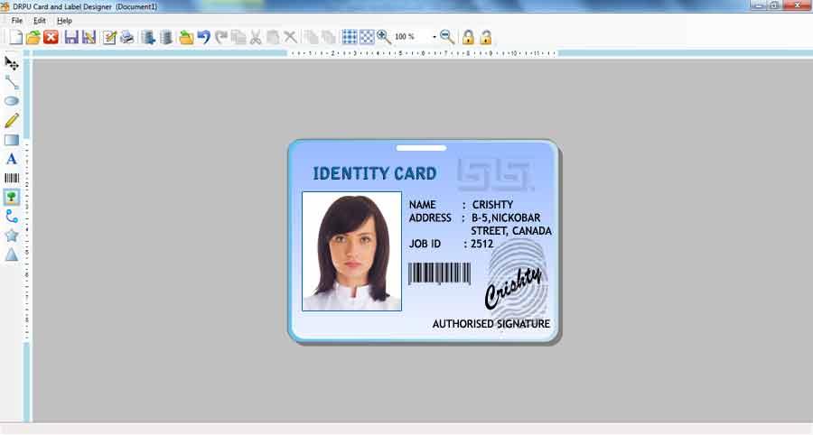 Freeware Id Card Creator Design Party Flyers Postcard
