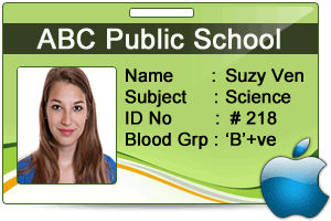 Student Id Card Designer For Mac Design Multiple Student Id Cards