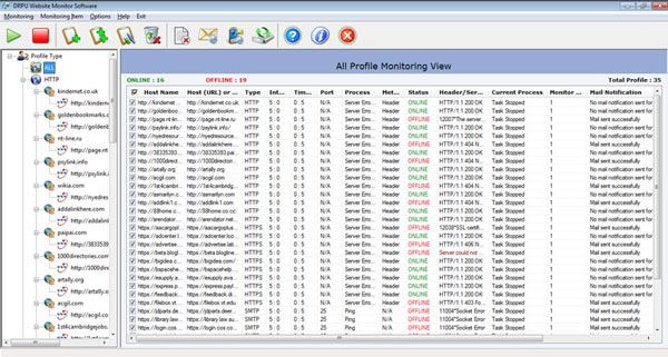 Email monitoring software